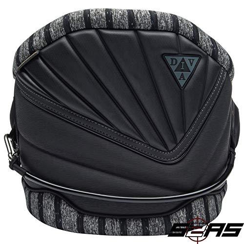 Mystic Ladies Diva Multi-Use Waist Harness Black 150635 Sizes- - Small