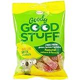 GOODY GOOD STUFF - Bonbons Gommeux Vegane Goût Fruits Assortis - Sans Gluten, Arôme et Colorants Artificiel - 100 gr