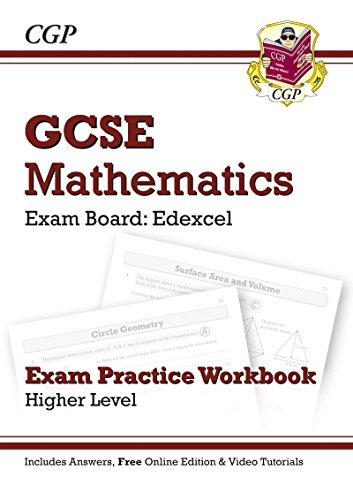GCSE Maths Edexcel Exam Practice Workbook with Answers & Online Edition: Higher (A*-G Resits) Cover Image