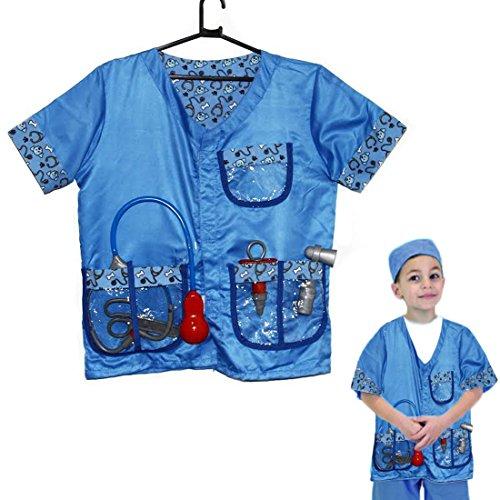 Toy Cubby Pretend Spielen Kinder Tierarzt Kostüm Verkleiden Set Arzt Zubehör.
