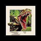 Sonia Originelli 5D Bilder Tiere Wanddekoration Fotos Illusion Farbe T-Rex