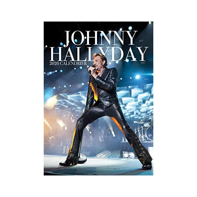 Calendrier 2020 Johnny Hallyday Officiel.Johnny Hallyday French Edition Calendrier 2019 Johnny