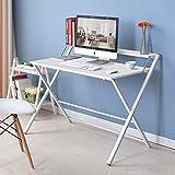 Greensen Klapp Computer Schreibtisch Büro Schreibtisch Faltbare Industrial Style Laptoptisch für Home Office Arbeitsstation studieren