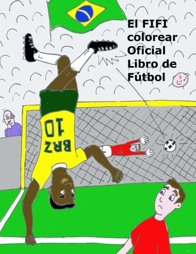 El FIFI colorear Oficial Libro de Futbol