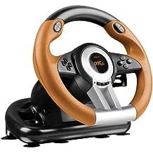 Speedlink - Racing Wheel Drift O.Z, Color Negro/Naranja (Windows)