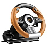 Speedlink - Racing Wheel Drift O.Z, Color Negro/Naranja (Windows)