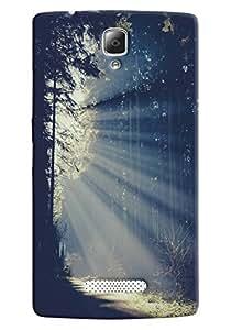 FindStuff Printed Back Cover For Samsung Lenovo A2010