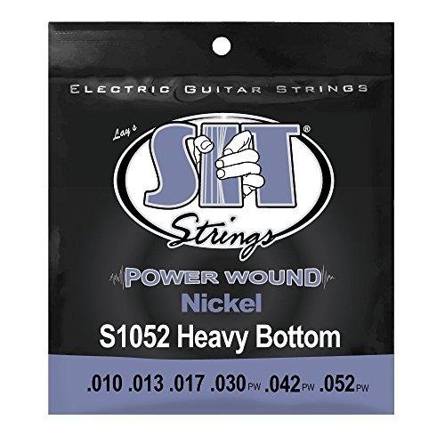 SIT S1052 Power Wound Heavy Bottom E-Gitarrensaiten Heavy Bottom Set