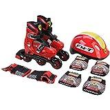 Ferrari - Set patines y protecciones (AJ Aguiar MSFK71R3336)