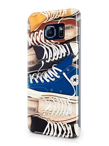 Preisvergleich Produktbild Converse All Star Chuck Taylor Clip-On 3D Case Cover for Phone Samsung Galaxy S6 Ne / Edge New (6)