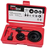 Draper Redline 68470 Hole Saw Kit (11-Piece)