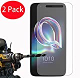 FoneExpert® 2 Pack - Alcatel Idol 5 Verre Trempé, Vitre Protection Film de protecteur d'écran Glass Film Tempered Glass Screen Protector Pour Alcatel Idol 5