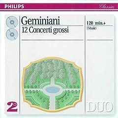 """Geminiani: Concerto grosso No.12 in D minor """"La Follia"""" - Arr. from Corelli's Sonata Op. 5 No.12 (rev. Franz Giegling)"""