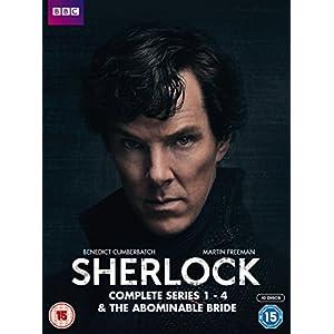 Sherlock - Series 1-4 & Abominable Bride Box Set [Reino Unido] [DVD]