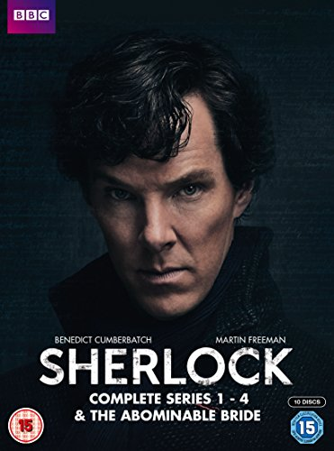 4 Sherlock-serie (Sherlock - Series 1-4 & Abominable Bride Box Set [10 DVDs] [UK Import])