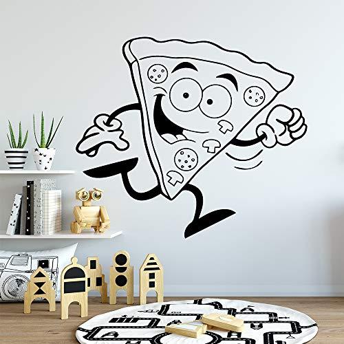 YuanMinglu Linda Pizza bebé Pegatinas Decorativas