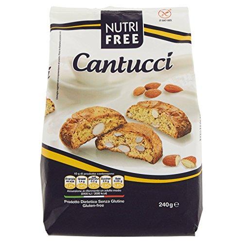 Nutri Free Cantucci - 4 x 240 gr, Senza glutine