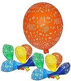 Unbekannt 15 TLG. Set: -  Schulanfang - ABC Schultüten  - Luftballons - Ballon Schulbeginn & Kindergeburtstag / als Dekoration - Tischdekoration - Schulbeginn Tischde..