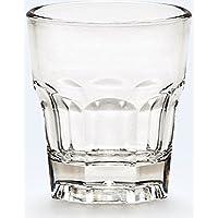 24pezzi–Set di  bicchierini in vetro per corto bevanda più Weg 0,03litri 4,4x 4,9cm Poly Carbon Art 1a qualità