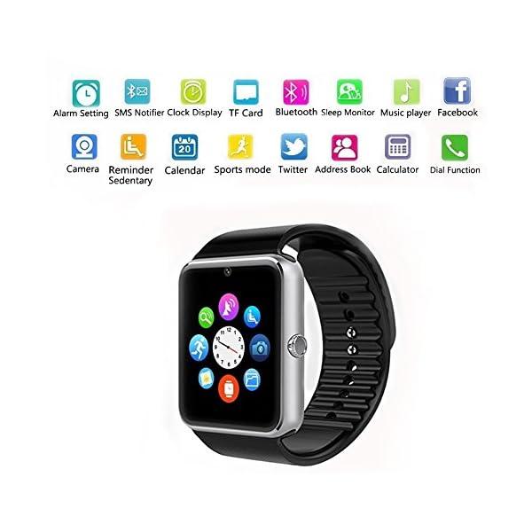 TagoBee TB09 IP67 Pulsera de Actividad Fitness Tracker smartwatch Monitorización de la presión Arterial Notificaciones… 3