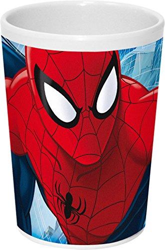 Joy toy 747398230ml spiderman tazza in melamina