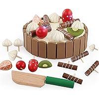 Mini Juego de Pasteles de Cumpleaños,GZQES,Mini Magnética Torta para Niños,Juguetes