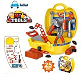 #10: FunBlast® Tool Set Toys for Kids, (Set of 25 Pcs) Pretend PlaySet, Little Engineer Pretend Toolbox Construction Tools, Role Play Engineer Workshop Tool Kit