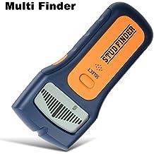 Detector de vigas, pantalla LCD. Escaneo y función múltiple, con diseño ergonómico, escáner de detección de vigas de pared, cables y metales en general