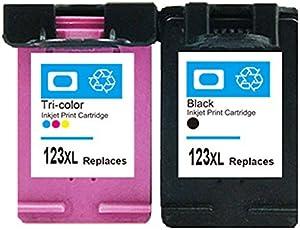 EasyBuy India Ink Cartridge for HP123 123xl Deskjet 2130 3630 1110 1111 1112 2132 3632 Printer