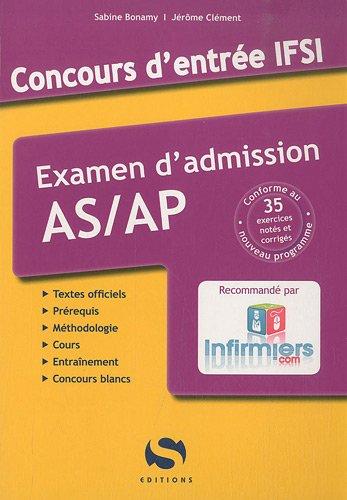 Concours Entrée IFSI AS/AP