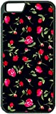 Yanteng Custom Case für iPhone 7 Plus iPhone 8 Plus (5,5 Zoll) Rote Blumen