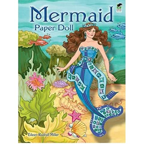 [( Mermaid Paper Doll )] [by: Eileen