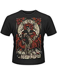 Playlogic International - Camiseta de manga corta con cuello redondo para hombre