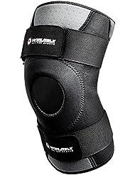 Win.max ajustable antideslizante de neopreno rótula abierto Soporte de rodilla Protección para lesiones artritis deportes al aire