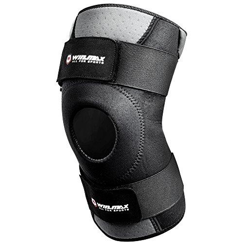 Win.max Neopren verstellbare Kniebandage Offene Patella Atmungsaktive Sport Knieschützer Knie Unterstützung für Arthritis Meniskus Riss & Mehr