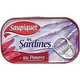 Saupiquet Sardines au Piment 120 g