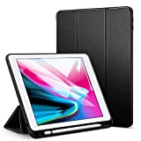 Oaky Newest iPad 9.7 2018 case with Pencil Holder Shockproof Lightweight Soft TPU