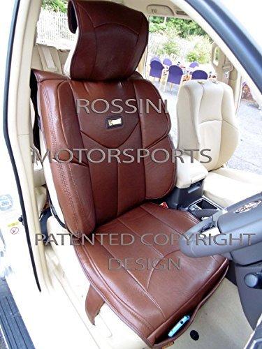 Preisvergleich Produktbild BMW 5Series/7Series Autositzbezüge ymdx 02Rossini Motorsports PVC braun -