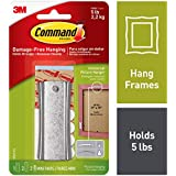 Command Universal Picture Hanger w/Stabilizer Strips, Jumbo