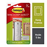 Command 17047 Sawtooth Metal - Sticky Nail and Stabiliser Strips - Silver, Pack of 1