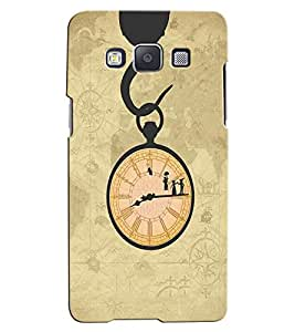 Citydreamz Clock\Time Hard Polycarbonate Designer Back Case Cover For Samsung Galaxy Core 2 G355H