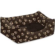 BedDog colchón para perro MIMI S hasta XXL, 26 colores, cama para perro, sofá para perro, cesta para perro, S marrón