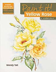 Yellow Rose in Watercolour (Paint it)