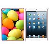 Bunten Ostereiern Snap On Hard Schutzhülle für Apple iPad Mini 1. Gen.–Pink