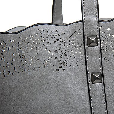 Womens Fashion Classic Crossbody Bag,caffè Gray