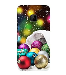 Vizagbeats Christmas Ornament  Back Case Cover for HTC One M9::HTC M9