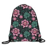 HLKPE Cute Sun Drawstring Backpack Travel Rucksack Shoulder Bags Fashion Gym Bag