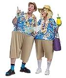 Unbekannt Witziges Urlauber Kostüm für Erwachsene