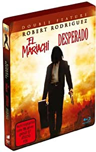 Desperado & El Mariachi-Steelbook [Blu-ray] [Import allemand]