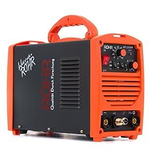 TIG ARC Welder Portable Inverter MMA MOSFET 240V / 250 amp DC - Röhr HP-250PP